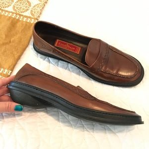 Cole Haan Country Brown Leather Loafers Size 9.5